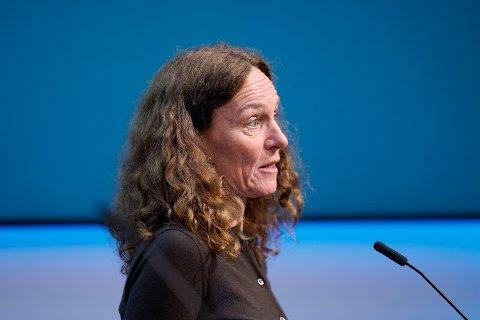 Direktør i Folkehelseinstituttet Camilla Stoltenberg.  Foto: Ali Zare / NTB