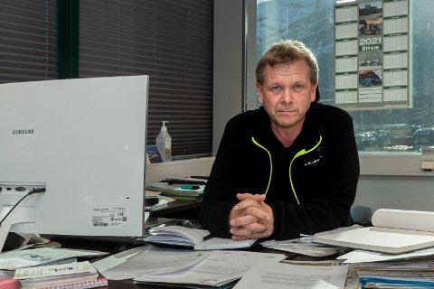 Utålmodig: Torstein Ottem håper på omdisponeringer av NTP slik at tre bruer i Sunndal blir utbedret.