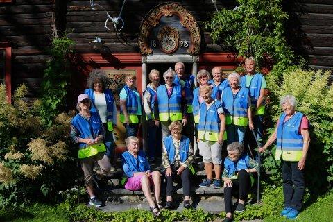 Sosialt prosjekt: Med bevilgede midler har Seniornett fått muligheten til å gi et trygt og sosialt tilbud til eldre over 65 år i Sunndal.