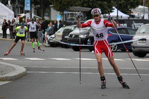 OVERLEGEN SEIER: Marcus Homdrom vant foran Magnus Sørbø og Knut Kristian Mogen