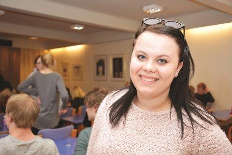 ROSER BJØRN: Anna Heiland Solheim fra Gjerstad.