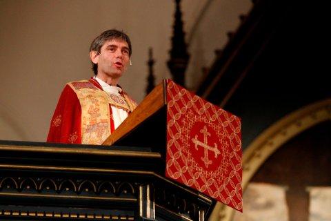 Biskop Stein Reinertsen ble innsatt i 2013, og kommer i dag på bispevisitas til Gjerstad. Foto: Tor Erik Schrøder / NTB scanpix