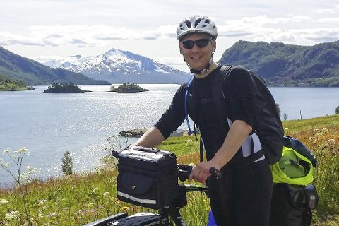 HELDIG MED VÆRET: Lars-Asmund Hestø anslår at han hadde godvær 90 prosent av tiden.