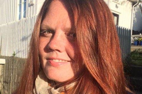 KOMMENTERER KIRKEVALGET: Ansvarlig redaktør i Aust-Agder Blad, Linda Jochime Helgesen Aslaksen (33).