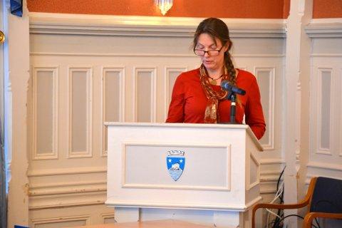 Ragnhild Dietrichson (Sp) var en av kun to i bystyret, som gikk imot å gi bryggeriet i Havnegata dispensasjon.