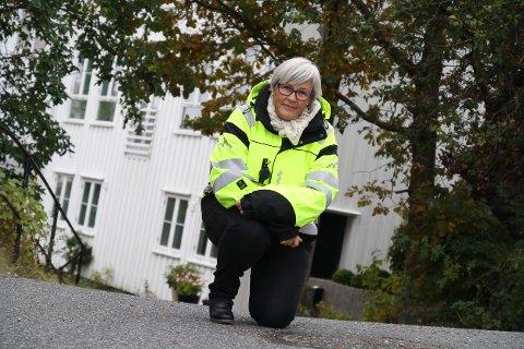 HELT HIT: Fra krysset Almeveien/Buvikbakken og opp til kumlokket på Risørflekken vil deler av veien bli stengt fra oktober til mai.