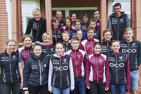 HARDTSATSENDE: Orienteringsløperne i Nydalens SK besøker Hope og Risør neste helg. På laget er flere som hevder seg i norgestoppen for juniorer. Trener er meritterte Anders Nordberg.