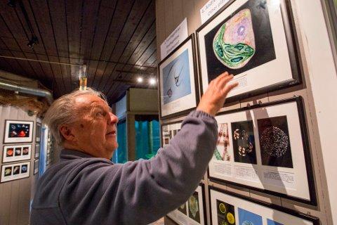 Per R. Flood forklarer ivring om sine fototeknikker, uten å røpe for mye.