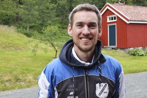 ILDSJEL: Tallak Olav Gryting bidrar med mye i Gjerstad Idrettslag. Her fra Hagelia Grand Prix i juni i år.