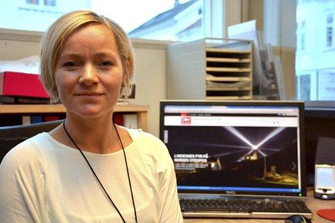 Bekrefter: Men næringssjef Kamilla Solheim er ordknapp om den mulige industrietableringen som er i arbeid. (arkivbilde)