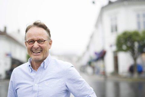 VIL HA FLERE CRUISETURISTER TIL RISØR: Styreleder i Risør By A/S, Dag Olav Hødnebo.
