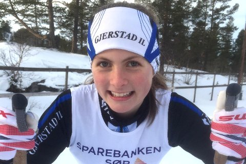 FØRSTE- OG ANDREPLASS: God helg for Oda Ertzeid på Hovden. Hun vant Oddersjaarennet lørdag, før hun kom på andreplass på Sanripløpet søndag.