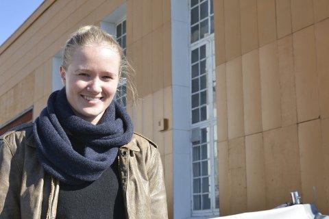STILLER UT: Sunniva Haugen Breidviks masteravhandling i interiørarkitektur stilles ut i Risør Kunstpark de neste ukene. Lørdag presenterer hun avhandlingen samme sted.