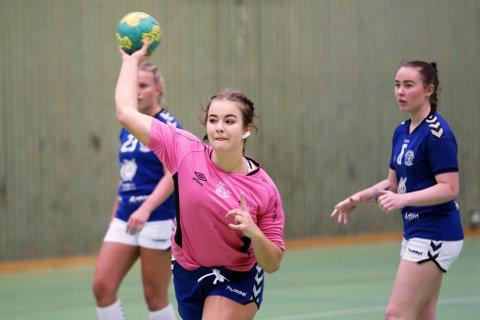 SEKSMÅLSSCORER: Veronica Aanonsen scoret seks mål i lørdagens seier.