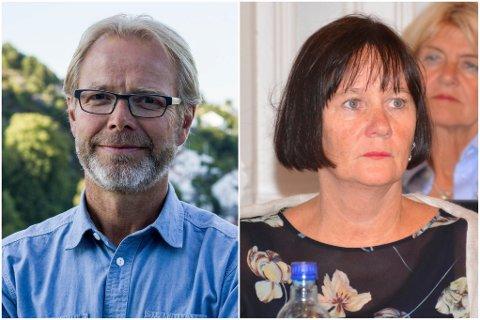 Innleggsforfattere: Sverre Aukland (helseaktør og innbygger i Risør) og Ragni MacQueen Leifson (bystyrerepresentant for Risør AP)