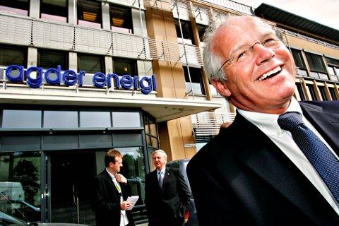 Tom Nysted fra Risør er konsernsjef i Agder Energi.