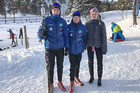 Fra venstre: Magnus Sørbø, Halvor Sørbø og Cecilie Wasler Fone.