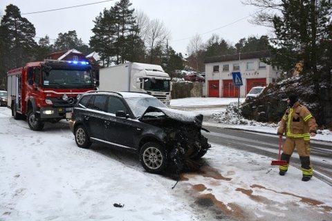 Ulykke på Frydendal mandag formiddag.