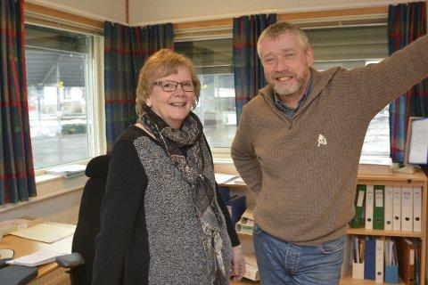 GRUSER SJEFEN: Kari Hommefoss Olsen har jobbet hos  RTA siden 1998, og har dermed langt mer erfaring sjefen sjøl Tor Georg Hagane.Foto: HPB