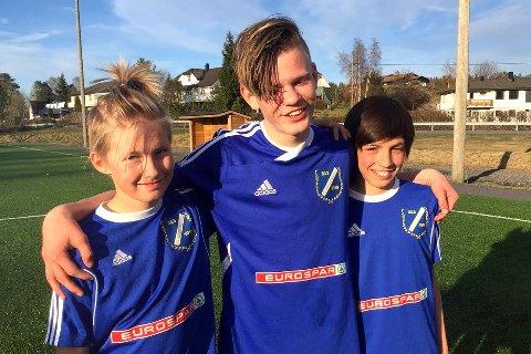 GJERSTADS MÅLSCORERE: Sindre Svendsen (2), Ole Kristian Presthagen og Dåkk Vangajeva.