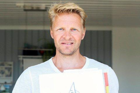 Petter Halvorsen - seiling 12,5 kvadrat.