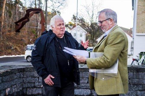 INTET NYTT: Rådmannen mener Yngve Tørrestads folkeaksjon (t.v.) ikke har brakt noe nytt på banen.