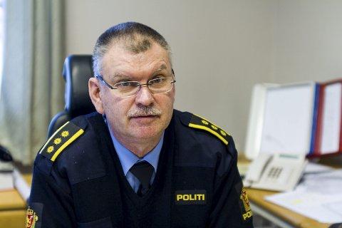 BEKREFTER HENLEGGELSE: Lensmann Odd Holum bekrefter at de henla saken til Steffen Blesvik.