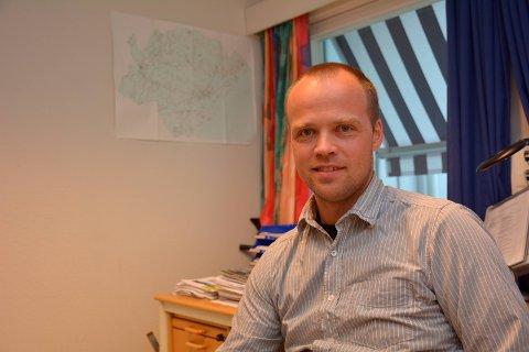 Frode Lindland sier skolen og lokalmiljøet er svært viktig for barna ved Songe skole.