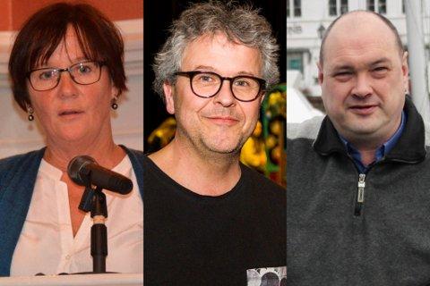 Ragni MacQueen Leifson, Ola Sigmundstad og Kjetil Skjeie er alle på søkerlisten til kommunalsjefstillingen i Risør kommune.