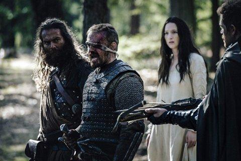 """Christopher Rygh (til venstre) avsluttet tidligere i desember  innspillingen av filmen """"Medieval""""."""
