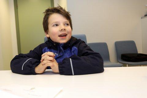 Ifølge ni år gamle Thord Eldorhagen er det så mye slit å gå på skolen at barn burde få betalt – fra statsbudsjettet.