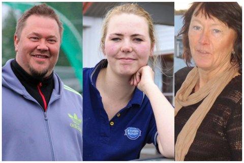 FLERE SØKERE: Terje Frøyna, Silje Fjeldstad Eriksen og Ragnhild Christoffersen er blant søkerne fra vårt distrikt til polsjefjobben i Kragerø.