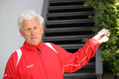 GIR GASS: Kjell Sagmyr fortsetter å sope inn NM-medaljer.