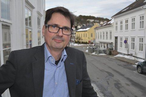 NY LEDE: Paal Eckhoff Salvesen er nyslått leder i Risør Ap, og tar over etter Jens Høibø.
