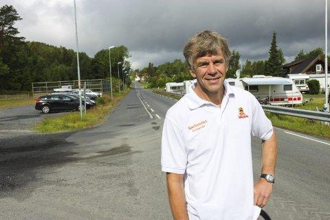 SOLID: Mads Henrik Sandnes og Sørlandet Camping la bak seg et solid 2017, tross det kalde været.Foto: arkiv / OHH