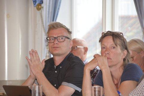 SIER NEI: Både Rune Hansen (MDG) og Ragnhild Dietrichson (Sp) sier nei til listekandidatur til neste valg.
