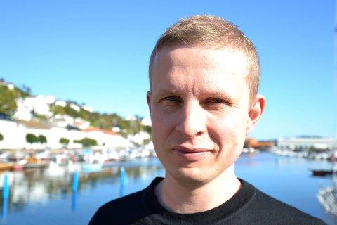 Erik Lunde fra Risør er klar for å ta i et tak som statssekretær i Barne- og familiedepartementet.