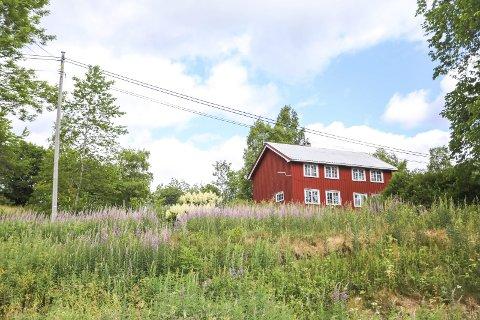 Ubebodd: Eiendommen Bakken på Vestøl er med sine 3700 daa en av de største i Gjerstad. Den har ikke vært bebodd siden Knut Hartveit kjøpte den i 2005.foto: stig sandmo