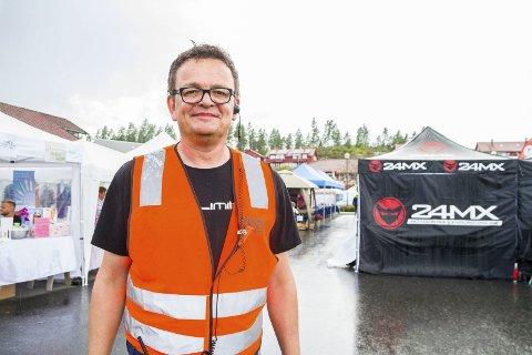 SØKER OM STØTTE: Rune Hagestrand og No Limit Events AS, som står bak Gjerstad Live og Brokelandsheia, samt er underleverandør for en rekke store og små arrangementer.
