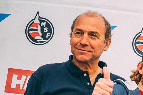 NY LEDER: Rients van der Woude, her i Norsk Seilsportsliga for to år siden, ble valgt til ny leder i Risør Seilforening på et ekstraordinært årsmøte tirsdag.