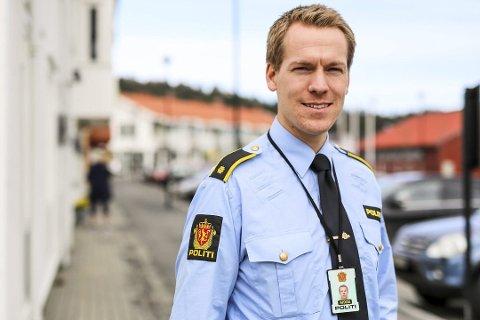 Etterforskningsleder: Steffen Wam Schneider leder etterforskningen av den tidligere lederen i Gjerstad kommune. Foto: Stig Sandmo / Arkiv