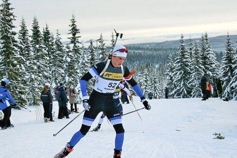 I STØTET: Ånon Flåta har fått fine plasseringen i svært hard konkurranse i de fire første rennene for sesongen. Om snaut to uker starter norgescupen på Lygna.