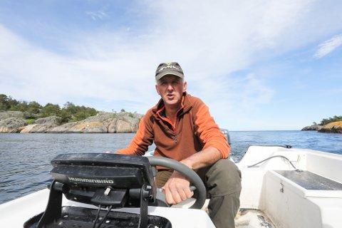 Øyvind Tønnesøl mista ei teine i oktober.