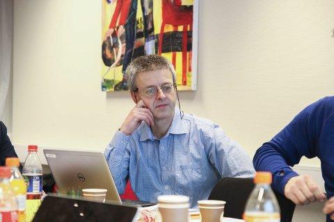 Oppgitt 1: Økonimisjef Espen Grimsland mener hans karakteristikker av finansminister Siv Jensens svar om eiendomsskatt ikke egner seg på trykk. Han er helt klar på  at Gjerstad kommune ikke har ei ledig krone i sine budsjetter. Foto: Arkiv