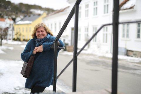 Leder: Guro Kirkhusmo (52) er leder for lokallaget til Humanetisk forbund i Risør og Gjerstad. Nå er det mange flere som vil konfimere seg humanistisk.