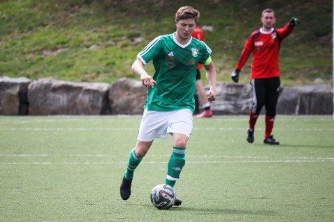 REDUSERTE: Henning Dallavara scoret kampens siste mål til 3-4 mot Kragerø.