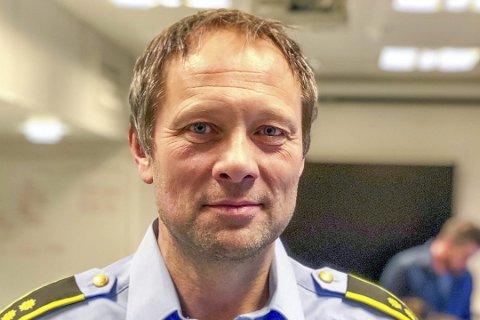 Aksjonsleder:Politioverbetjent Thor Atle Pedersen leder Operasjon Pandora.