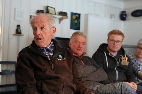 Innleggsforfatter Gunstein Dalane til venstre.