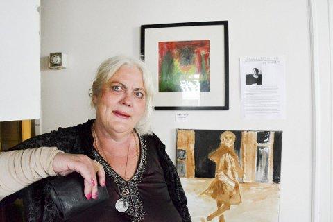 Bodil Knutsen drømte om å bli kunstner da hun var liten, nå er drømmen en realitet.