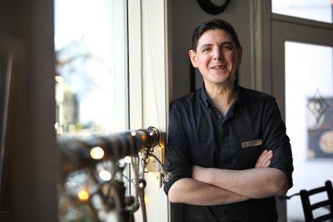 David Arnesen, daglig leder for Det Lille Hotel i Risør.